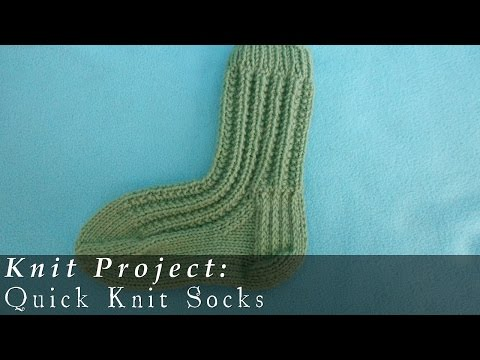 Quick Knit Socks | Weekend Project