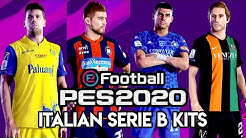 eFootball PES 2020 Italian Serie B Teams and Kits