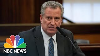 NYC Mayor Bill de Blasio Briefing On Coronavirus, George Floyd Protests   NBC News