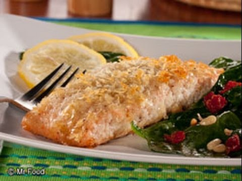 potato crusted salmon youtube
