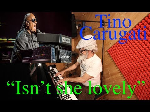 "Lezione di Piano n.124 -  Stevie Wonder ""Isn't she lovely "", tutorial"