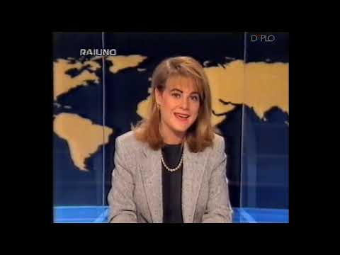 25/11/1995 - RaiUno - 3 Sequenze spot pubblicitari e promo, TG1 Ore18, Estrazioni del Lotto e Che te