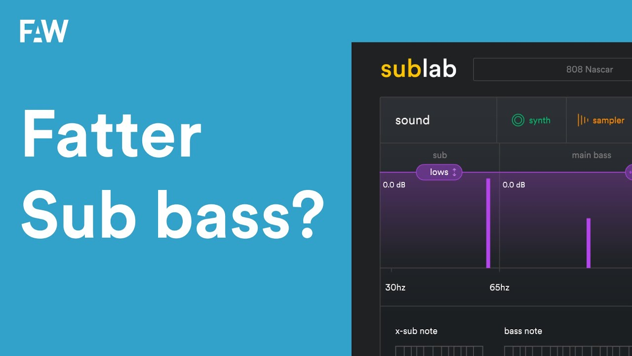 Need fatter sub-bass? X-Sub is what you need