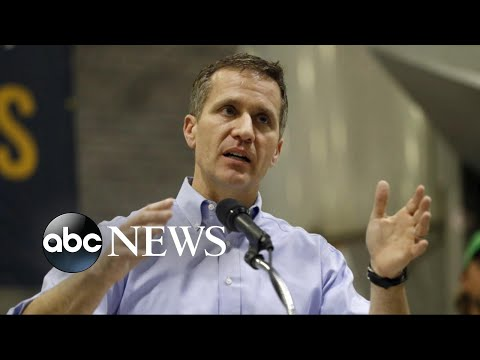Missouri governor charged with 1st-degree felony invasion of privacy