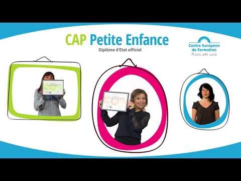CAP Petite Enfance du Centre Européen de Formation - Publicité TV 2018