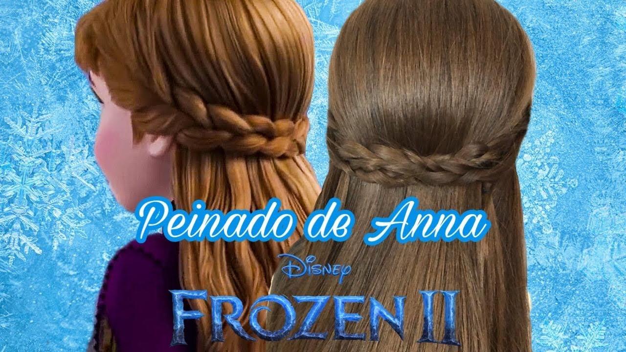 frozen 2 hairstyle peinado princesa