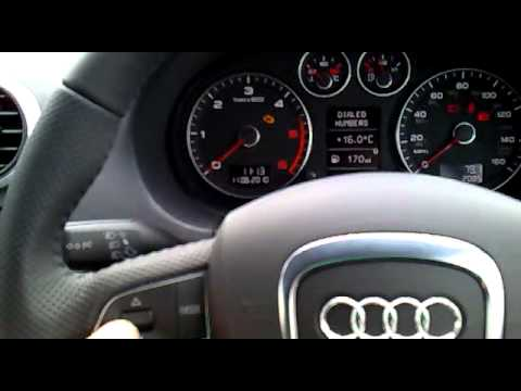 Fiscon Basic bluetooth handsfree installed into Audi A3 Covertible