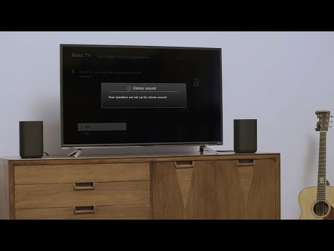 Roku TV Wireless Speakers | Easily add premium sound to your