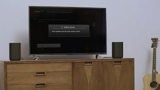 How to set up Roku TV Wireless Speakers