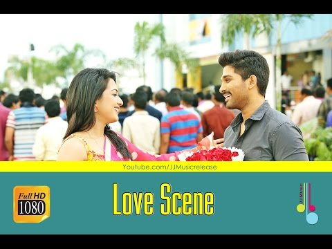 Yodhavu Love Scene - Yodhavu Malayalam Movie (2016) | AlluArjun , Catherine tresa, SS.Thaman