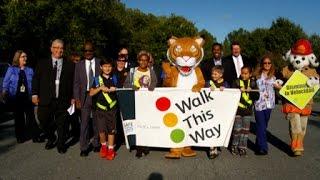 International Walk to School Day.