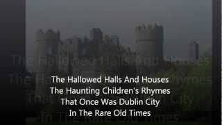 Rick Fannin - Dublin In The Rare Old Times (With Lyrics)
