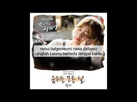 [Indo Sub] Bumkey - Breathing All Day (숨쉬는 모든날) Suspicious Partner OST Lyrics