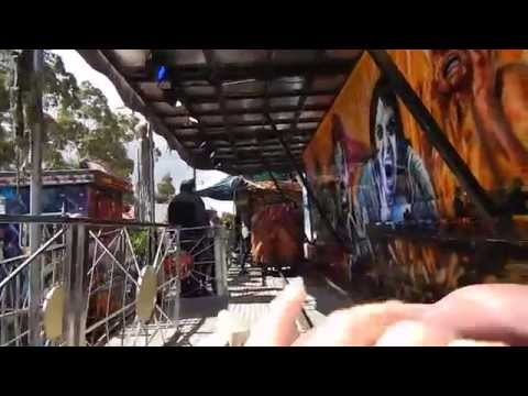 Carnevil Ghost Train at the Royal Melbourne Show 2015