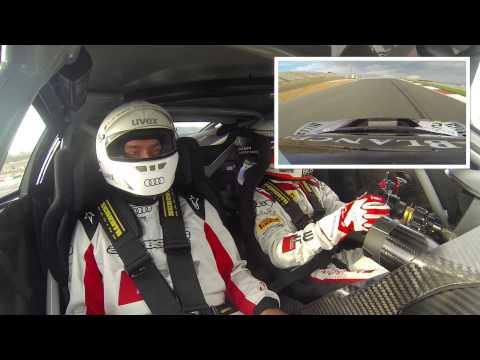Hot Lap mit Rennfahrer Markus Winkelhock im R8 LMS Renntaxi