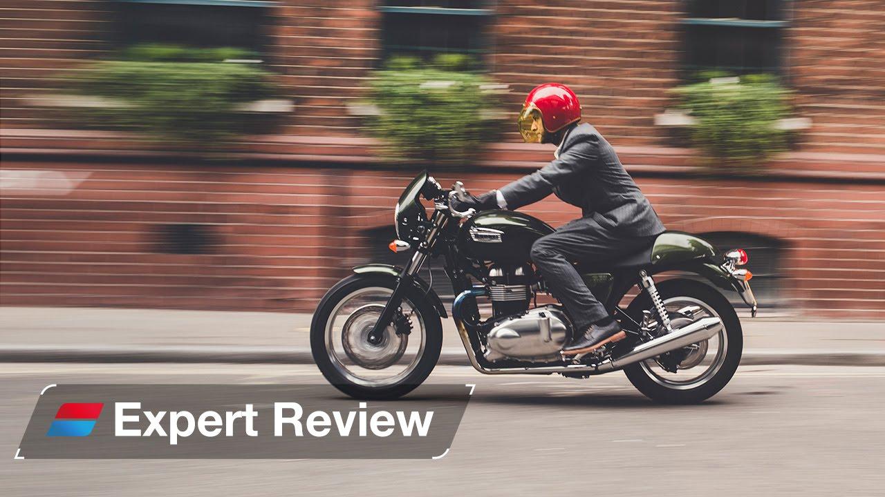 2014 Triumph Thruxton bike review - YouTube