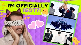 First Reaction to GOT7 (갓세븐) - Poison + Aura (Blindfolded Ve…
