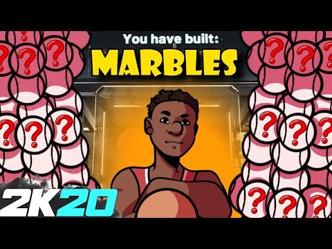 Using Marbles To Make My GODLY Park Build - NBA 2K20