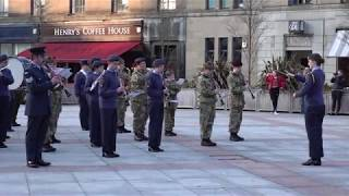 I will follow him (Sister Act) by National Cadet Music Camp Scotland in Dundee City centre 2019