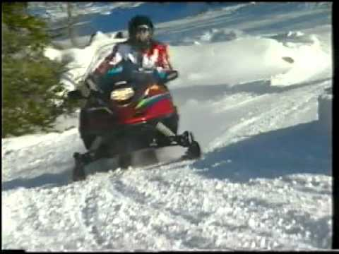 1999 Yamaha Snowmobile Promo Video