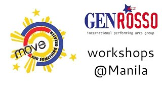 Move for something greater - workshops in Manila