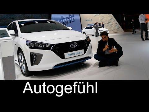 Hyundai Ioniq Hybrid/Plugin-Hybrid/EV REVIEW comparison, range Exterior/Interior