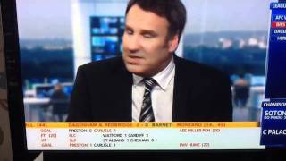 Paul Merson - Aston Villa Bigger Club Than Newcastle