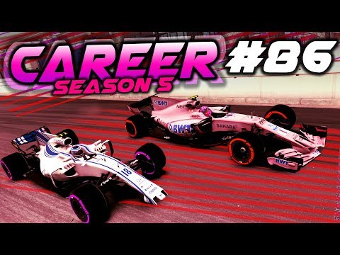 F1 2017 Career Mode Part 86: BIGGEST FIGHT BACK AT MONACO