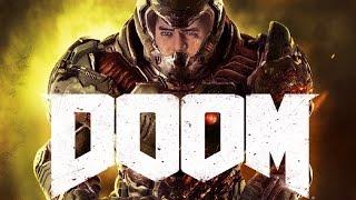 Мэддисон играет в DOOM 2016