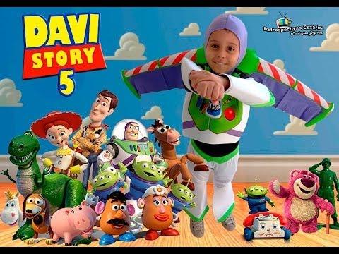 5 anos do davi tema toy story youtube for Toy story 5 portada