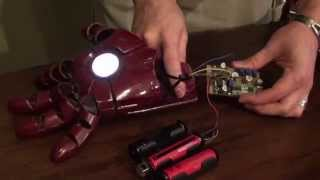 Iron Man Repulsor Version 1.0 Prototype Demo