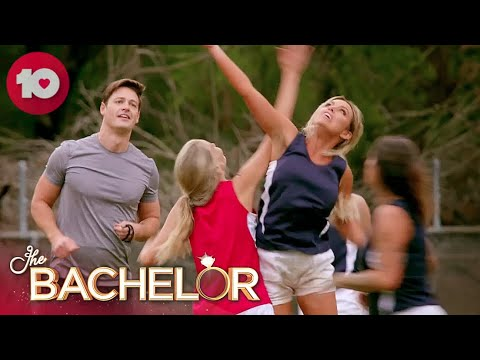 Competitive Bachelorettes Play AFL | The Bachelor Australia