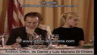 President of the United States Bill Clinton visits Argentina - 1997 FOOTAGE ARCHIVE