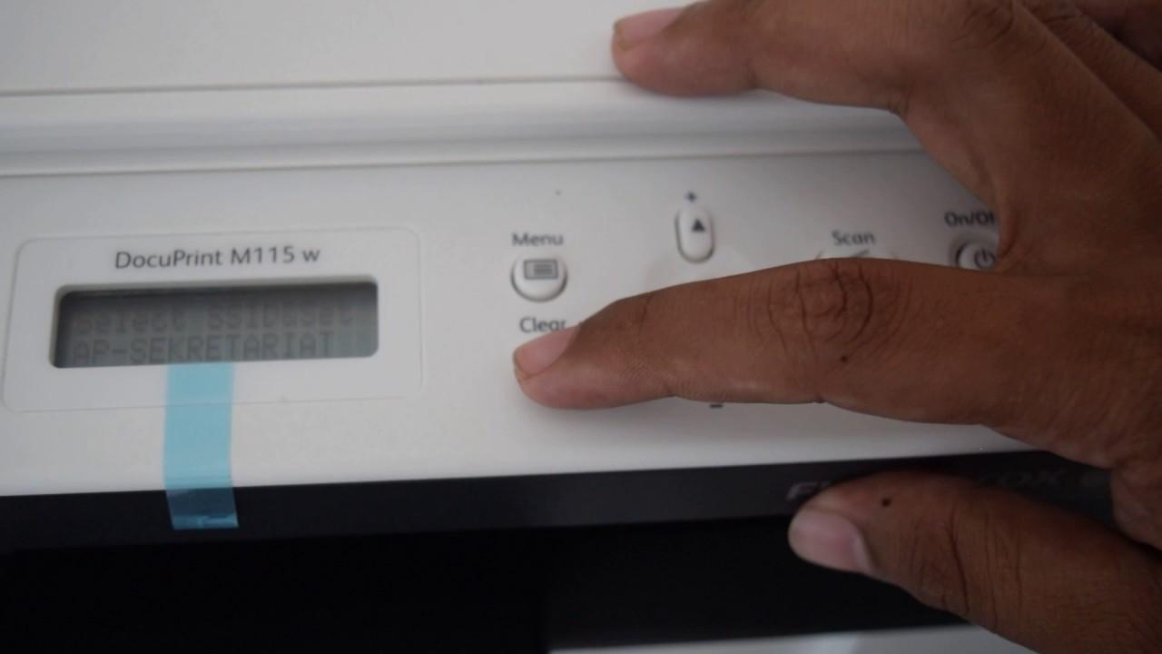 Fuji Xerox DocuPrint M115W Solution Error And Tools explanatio easy