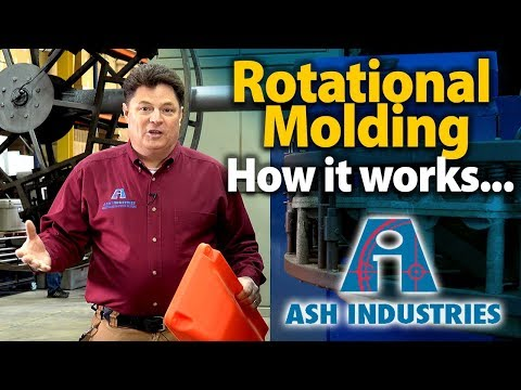 Rotational Molding of small or large plastic parts - ASH Industries