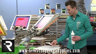 Screen Printing Money Saving Tip - Pallet Adhesive