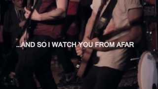 """AND SO I WATCH YOU FROM AFAR """"Like A Mouse"""" Live @ The Media Club"""