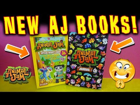 NEW! Animal Jam Journal + Official Insider's Guide 2nd Edition Opening!