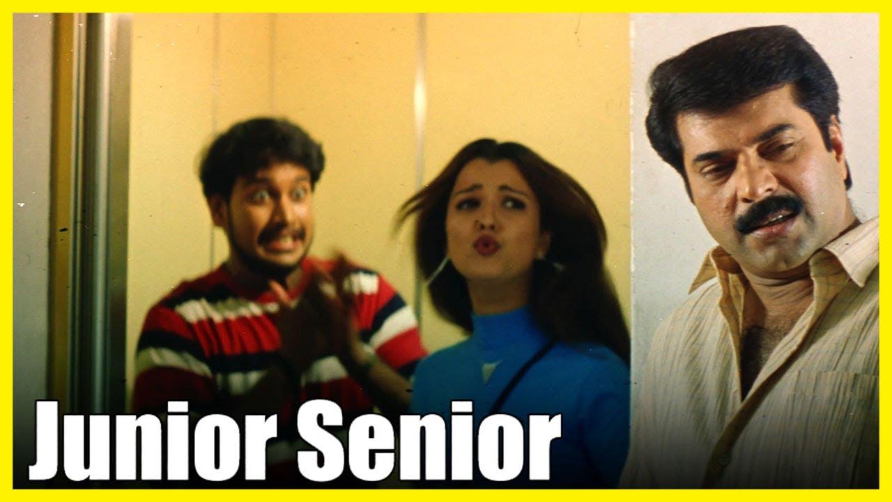 Junior Senior Tamil Movie 4K | Hamsavardhan gets shocked | Mammootty | Hamsavardhan | Charle