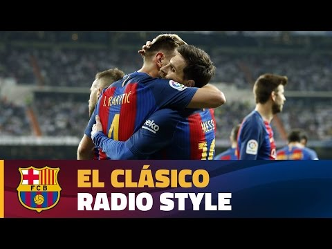 The best photos and the best moments from Radio Barça's Clásico commentary