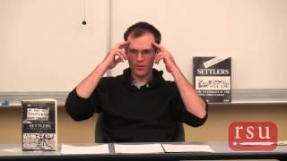 """SLCC RSU: """"Settlers"""" presented by Kyle Stegerwald"""