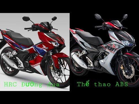 WinnerX.So sánh chi tiết 2 phiên bản HRC và Thể thao có ABS.nên chọn em nào?