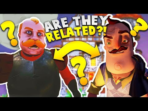 99% OF PEOPLE WOULD AGREE THIS GUY MUST BE RELATED TO HELLO NEIGHBOR! | Goodbye My King Gameplay