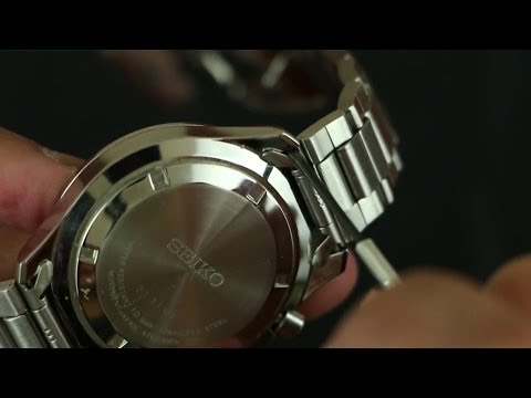 How To Remove Your Seiko Watch Band The Easy Way Youtube