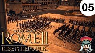 Rise of the Republic | 05 | Total War: Rome 2 - 7600 Mann greifen Ostia an!