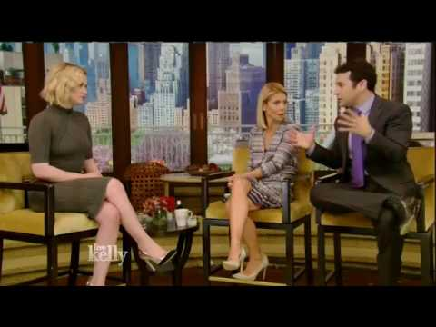 Anna Paquin interview Live! With Kelly co-host Fred Savage 05&24&16 (May 24, 2016)