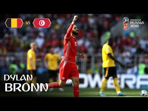 Dylan BRONN Goal - Belgium v Tunisia - MATCH 29