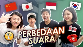 NGAKAK! PERBEDAAN SUARA BENDA (INDONESIA VS JEPANG VS KOREA VS CHINA)