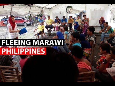PHILIPPINES | Fleeing the conflict in Marawi