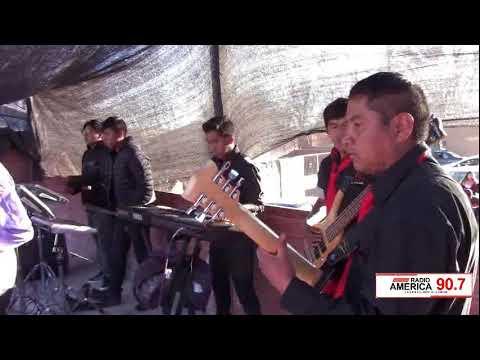 Grupo Arenales en el Aniversario de Radio America.